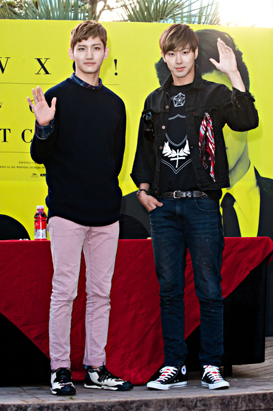 TVXQ 's 6th Album 'Catch Me' Release Autograph Session